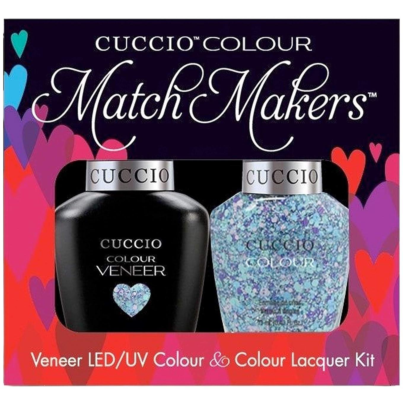 レタス主蒸し器Cuccio MatchMakers Veneer & Lacquer - A Star is Born - 0.43oz / 13ml Each