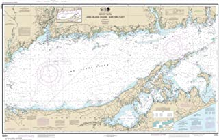 Paradise Cay Publications NOAA Chart 12354: Long Island Sound Eastern part, 29.9 X 47.2, TRADITIONAL PAPER