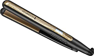 """Remington S6501 1"""" Ultimate Ceramic Flat Iron with Protection Against Frizz, Smooth Glide Hair Straightener, High Heat and Temperature Lock"""
