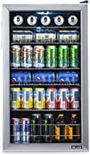NewAir 126 Can Freestanding Beverage Fridge, Stainless Steel – Limited Edition Design