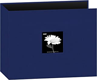 Pioneer Photo Albums Fabric Frame 3-Ring Scrapbook, 12