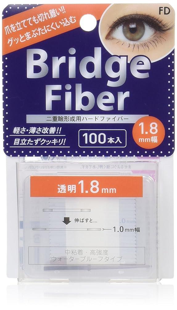 乞食フォーマットバイアスエフディ ブリッジファイバーII クリア 1.8mm