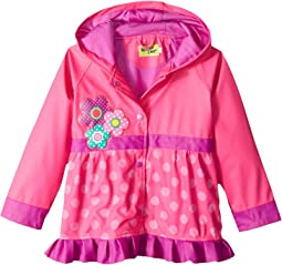 Western Chief Kids Flower Cutie Rain Coat (Toddler/Little Kids)