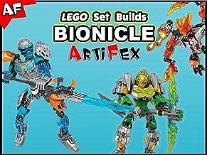 Clip: Lego Set Builds Bionicle - Artifex