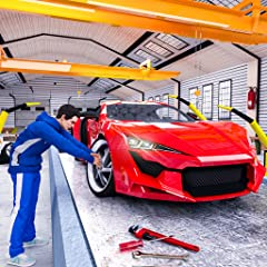 Features of Car Mechanic Simulator 2019: Car Builder Auto Repair Sports Car Factory Realistic car factory environment Multiple Sports cars and SUVs to assemble Car test driving track Car paining both Amusing music