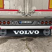 Trupa Heckschürze 2400 X 380 Mm Befestigungsschienen Volvo Lkw Anhänger Auflieger Auto