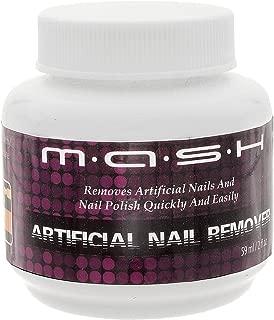 MASH Artificial Nail Remover Brush and Polish Cleaner Soak