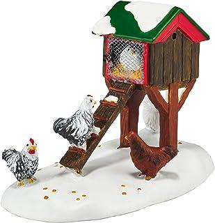 Department 56 Village Mistletoe Farm Chicken House Accessory Figurine, 2.68 inch