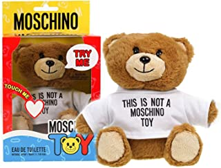 Moschino Teddy Bear Toy 50milliliter Eau De Toilette EDT Spray Perfume For Her