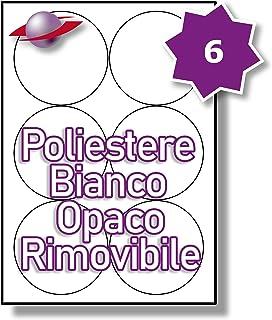 Label Planet/® Etichette KRAFT su Carta Marrone A4 per Stampanti a Getto dInchiostro e Laser 63.5 x 38.1mm 25 Fogli LP21//63 BRK. 21 Par Foglio 525 Etichette