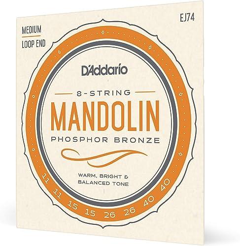 D'Addario EJ74 Cordes pour Mandoline