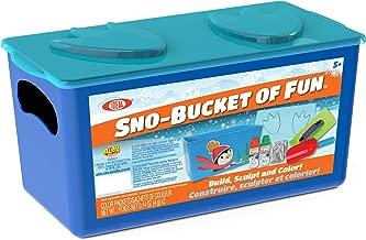 Ideal SNO Bucket of Fun Kit Kids Outdoor Snow Activity