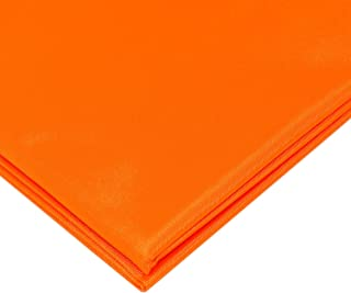 Canvas Waterproof Fabric 6OZ 58 Inches Wide by The Yard (Orange,1 Yard)