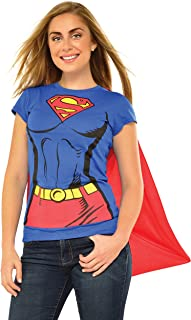 Rubie's DC Comics Women's Supergirl t-Shirt with