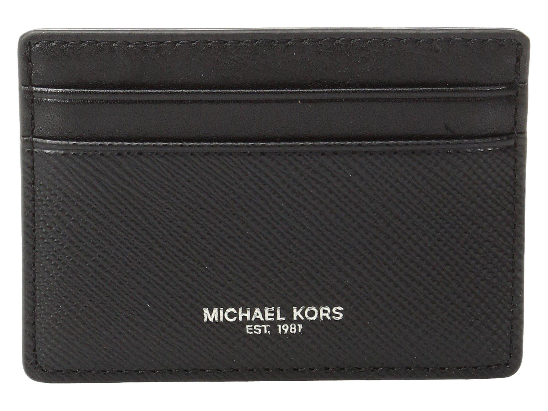 Monedero para Hombre Michael Kors Box Sets Card Case w/ Magnetic Money Clip Set  + Michael Kors en VeoyCompro.net