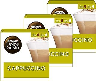 Nescafé Dolce Gusto Capsules Cappuccino - 48 Stuks (3 x 16 Capsules)