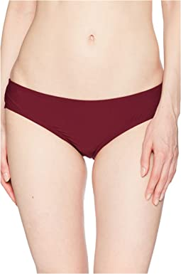 Vince Camuto Shore Shades Shirred Smooth Fit Cheeky Bikini Bottom
