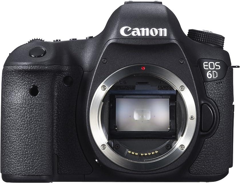 Canon EOS 6D - Cámara reflex digital DSLR (Full Frame CMOS 20.2 Mp LCD 32)