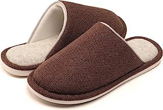 WINZYU Pantofole Donna Uomo Invernali Classico Leggero Morbido Caldo Antiscivolo Scarpe da Casa Ospiti