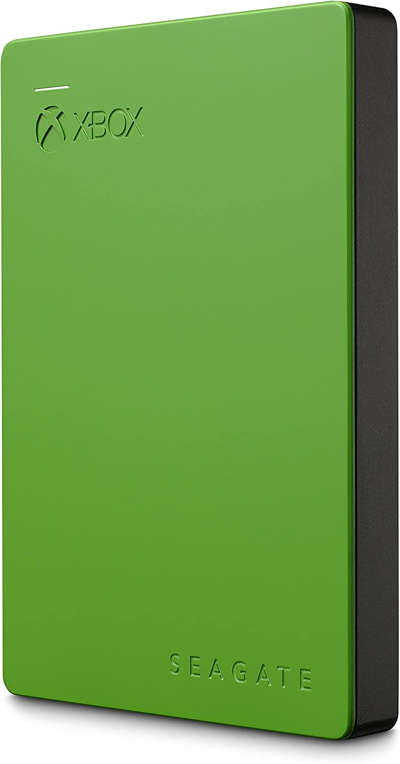Seagate Game Drive for Xbox 2TB External Hard Drive Portable HDD – Designed for Xbox One (STEA2000403), Green