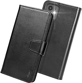 Migeec Funda iPhone 12 / iPhone 12 Pro - Funda con Tapa Tipo Billetera [Bloqueo RFID] con Soporte para Tarjeta de crédito ...