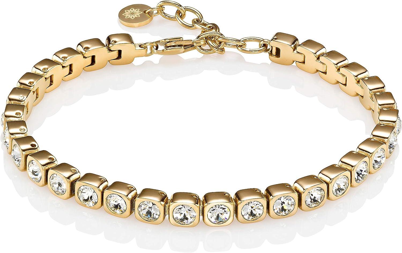 Namana Tennis Bracelet for Women. store Department store Stai set Swarovski in