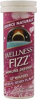 Source Naturals Wellness Fizz Immune Support Wafers, Berry, 2 pk