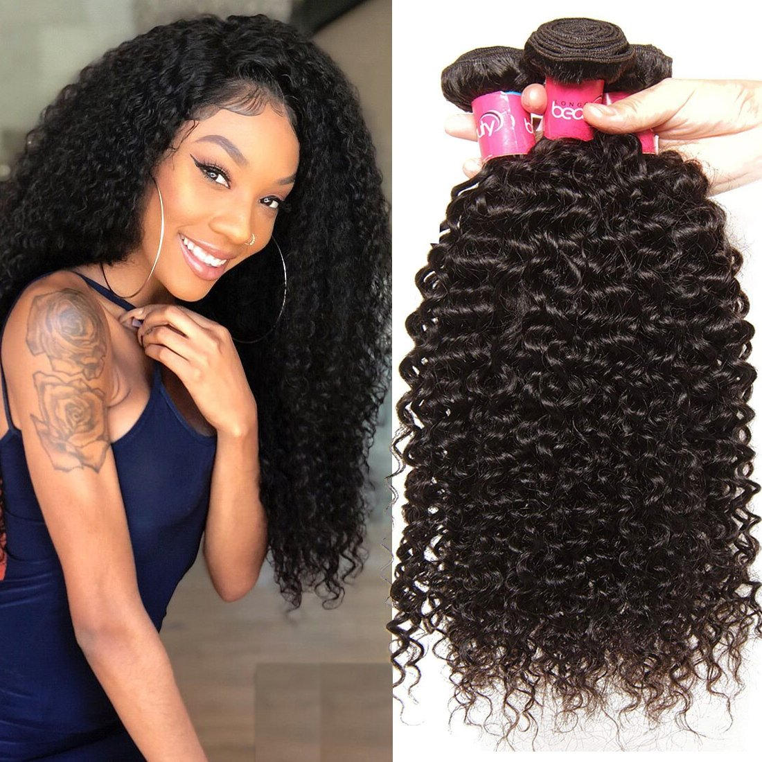 Klaiyi 10A Hair Brazilian Curly Virgin 18 Ranking TOP10 Weave 18inch H Finally popular brand
