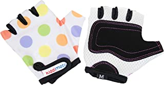 Kiddimoto Kids Toddler Fingerless Gloves for Balance/Pedal Bikes and Scooters