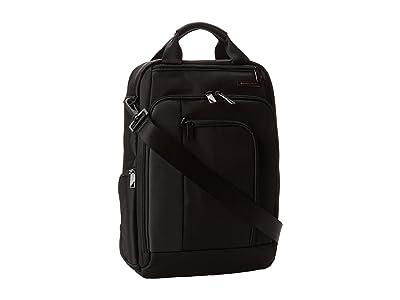 Briggs & Riley Verb Relay Convertible Brief (Black) Briefcase Bags