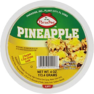 Paradise Pineapple, Wedges , 4 Ounce Tubs (Pack of 12)