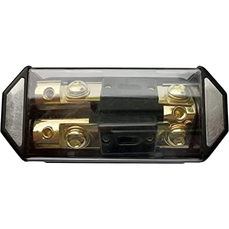 1x0GA 2x4GA ANL Fuse Holder 2 Way  Distribution Block  In Line With 2x200A Fuse