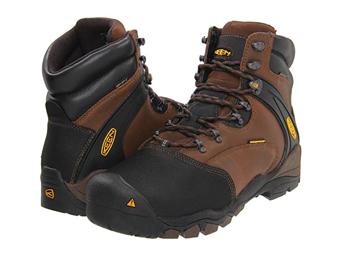 Keen Utility  Louisville Met (Slate Black) Mens Work Lace-up Boots