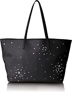"""Dear Drew by Drew Barrymore womens DR163""""on the Go"""" Vegan Leather Celestial Tote Bag"""