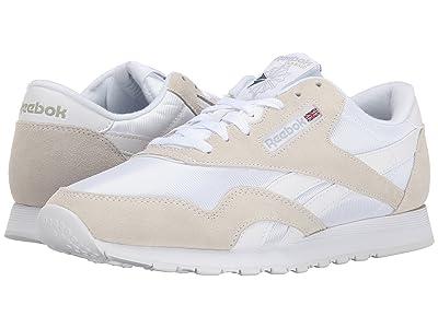 Reebok Lifestyle Classic Nylon (White/Light Grey) Men