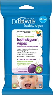 Dr.Brown's Tooth And Gum Wipes Pack Of 30