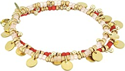 SHASHI - Lilu Ball Disc Set of 2 Bracelets
