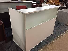 Best white reception desk salon Reviews