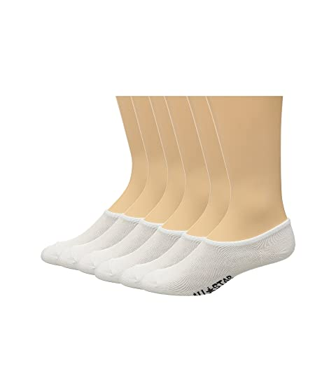 Buy Cheap Factory Outlet Converse 6-Pack Made for Chucks Flat Knit Basic White Cheap Discount GKVOUd2r6y