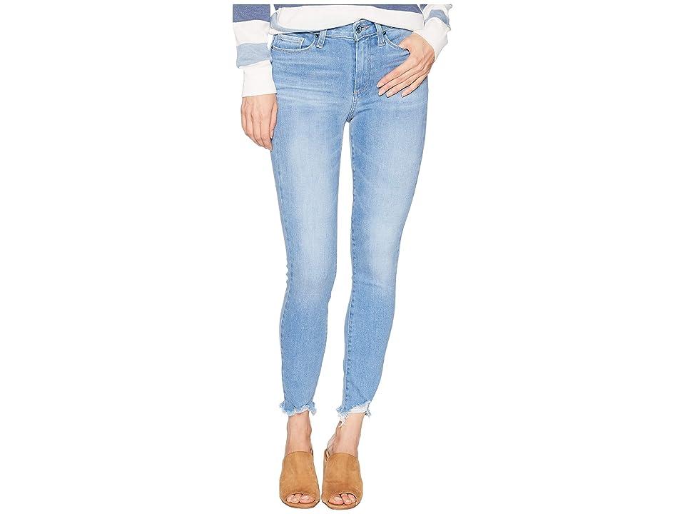 Paige Hoxton Ankle w/ Super Distressed Hem in Alameda (Alameda) Women's Jeans, Blue