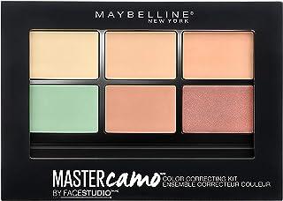 Maybelline New York Kit Corrector Imperfecciones Master Camo, Tono 01 Light