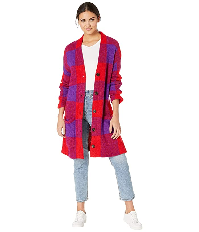 Blank NYC Long Cardigan in Baby Boomer (Baby Boomer) Women