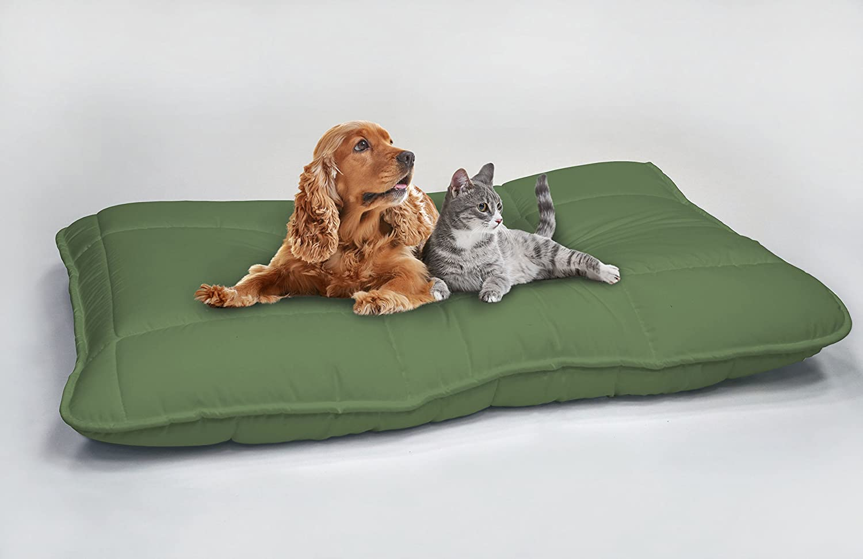 Elegant Coj/ín Maxi para Perros 130x100 cm Marr/ón