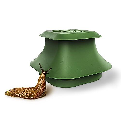 Trampa para babosas y caracoles SnailX, kit básico: trampa y atrayente | lucha segura