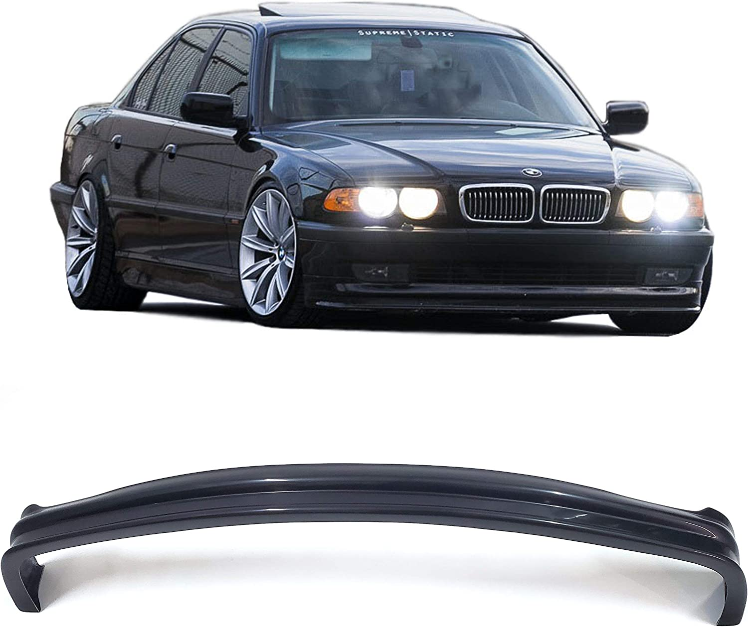 Tuning Front 5 ☆ very popular Bumper Lip for Direct stock discount BMW 1994-2001 E38 Series 728i 7