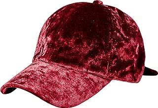 Women's Fashion Velvet Baseball Cap