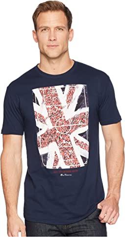 Union Jack Fans Screen Tee