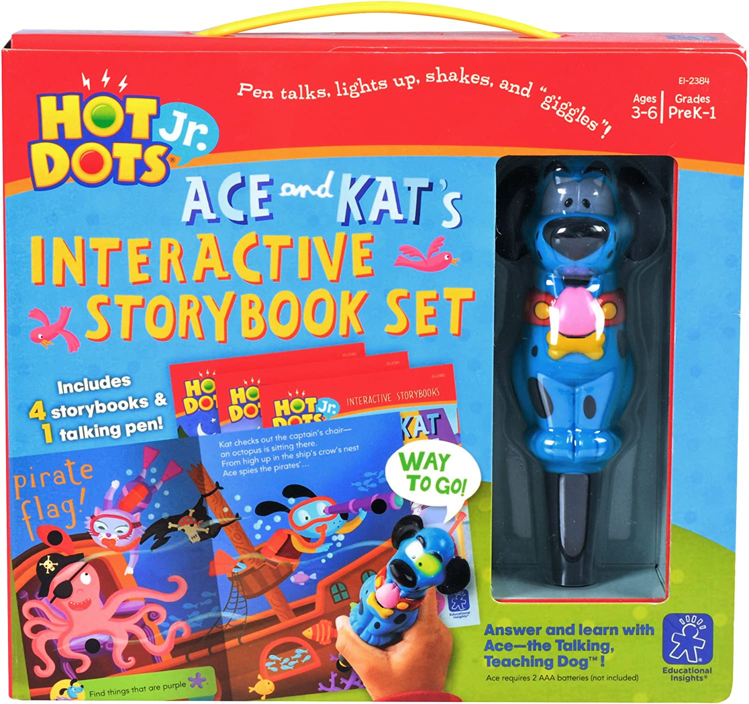 Ace and Kat Storybook Bundle and Ace Pen
