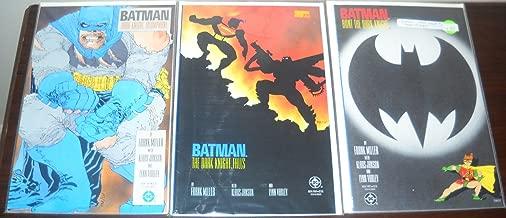 Batman the Dark Knight Returns #2 #3 #4 First Print (DARK KNIGHT TRIUMPHANT,HUNT THE DARK KNIGHT & THE DARK KNIGHT FALLS)