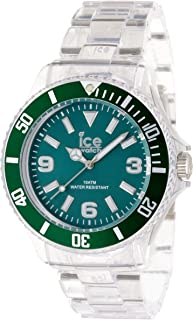 Ice-PURE Green Dial Plastic Strap Unisex Watch PU.FT.B.P.12